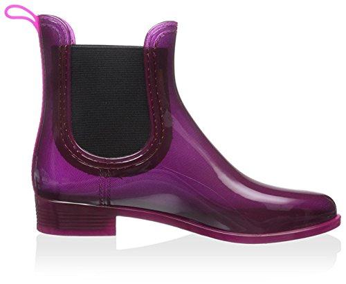 ... Gioseppo Kvinners Kort Rain Boot Burdeos