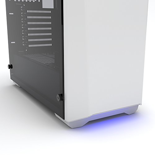 Phanteks PH-EC416PSTG_WT Eclipse P400S Silent Edition with Tempered Glass, Glacier White Cases