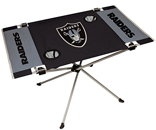 Portable Tailgate Table (NFL Portable Folding Endzone Table, 31.5 in x 20.7 in x 19 in)