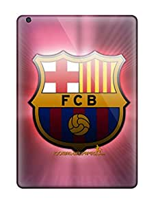 OAm19354HRNt Fc Barcelona Logo Fashion Air Cases Covers For Ipad