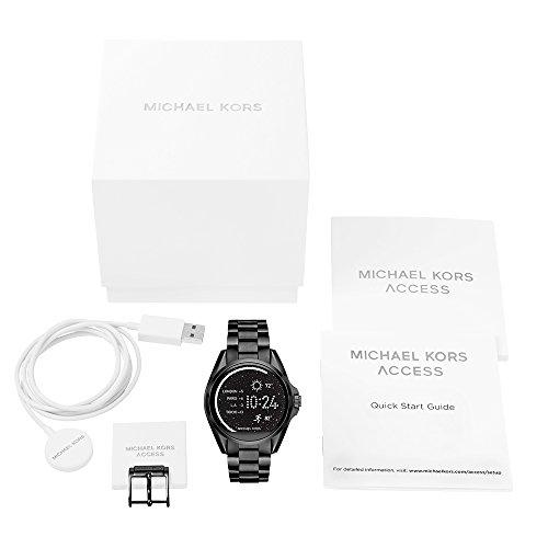 michael kors access touchscreen black bradshaw smartwatch. Black Bedroom Furniture Sets. Home Design Ideas
