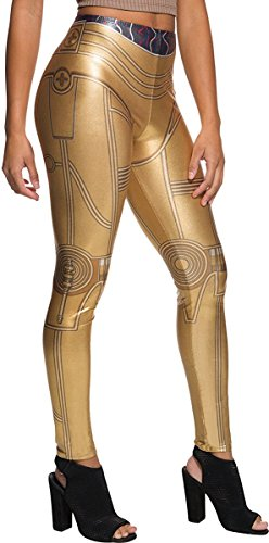 Rubie's Costume Co. Men's Adult Star Wars C-3PO Costume Leggings,As/Shown,One Size