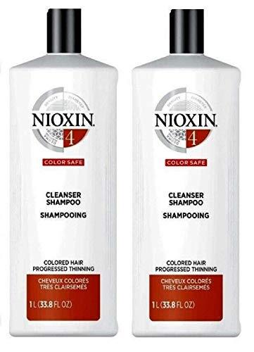 2 Packs System 4 Color Safe Cleanser Shampoo 33.8oz