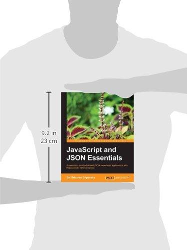 javascript and json essentials sai srinivas sriparasa 9781783286034 amazoncom books