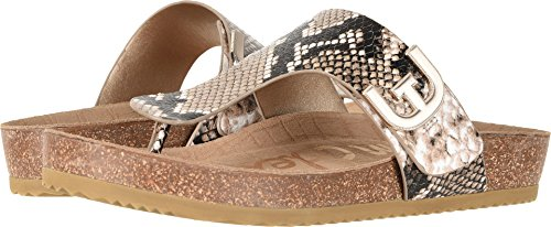 (Sam Edelman Women's Olga Natural Royal Snake Print Leather 7 M US)