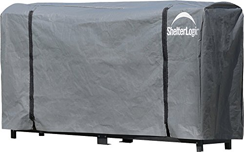 ShelterLogic Firewood Storage Rack Universal Cover, 8 ft. - Shelterlogic Cover