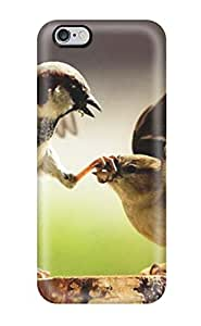 Tough Iphone EiBknDh3295WVkFT Case Cover/ Case For Iphone 6 Plus(animal Print Funny Birds Desktop)