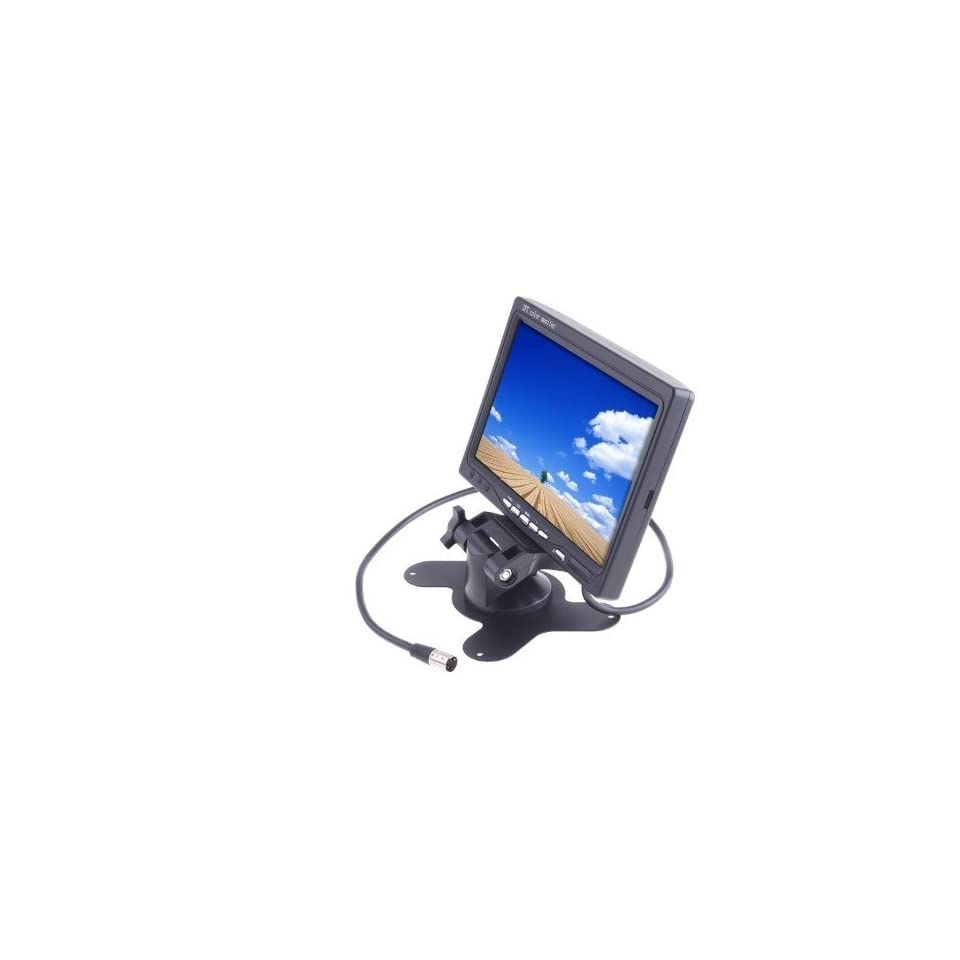 TFT LCD Color Car Rear view Headrest Monitor DVD VCR