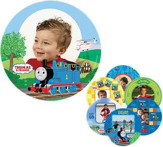 HIT Thomas the Tank Engine Personalized Train Photo Plate Kit by Makeit Products