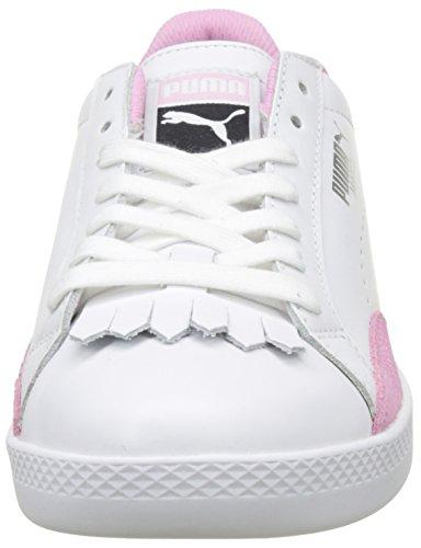 Puma Women's Match Lo Reset WN's Low-Top Sneakers, White White (Puma White-prism Pink 01)
