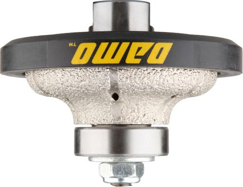 DAMO F20 3/4 inch Ogee Diamond Hand Profiler Router Bit Profile Wheel with 5/8-11 Thread for Granite Concrete Marble Countertop - Ogee Wheel Profile