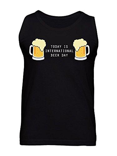 Today Is International Beer Day Men's Tank Top