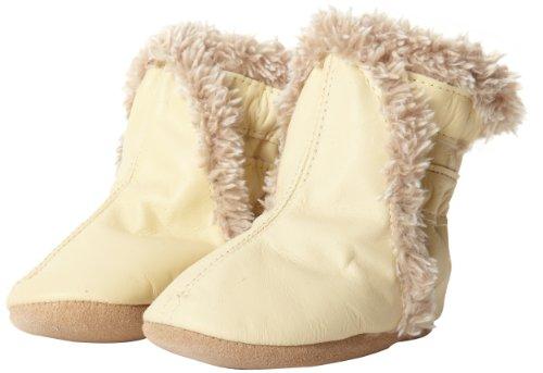 (Robeez Classic CM Crib Shoe (Infant/Toddler),Cream,6-12 Months M US Infant)