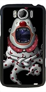 Case for Htc One Sensation XL G21 - In the mouth of clown