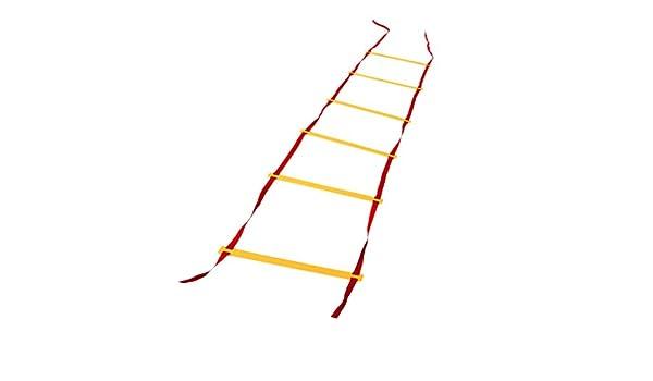 IPOTCH Escalera de Coordinación Deportes Al Aire Libre Duradero ...