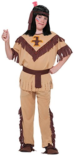 Forum Novelties Native American Brave Child Costume, Large (Indian Mens Costume)