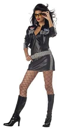 Raceway Hottie Adult Costume Size Small (6-8)