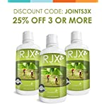 NUSENTIA Glucosamine for Dogs : RJX Canine Joint Support with Chondroitin and MSM. Ideal for Hip & Joint Problems, Arthritis, Pain, and Senior Dogs. Vet Recommended. All Natural. (32 oz) 12