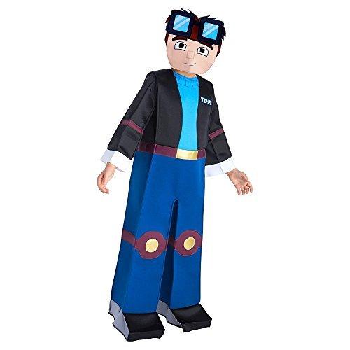 Palamon TDM Dan U Tube Hero Costume Size Small Blue