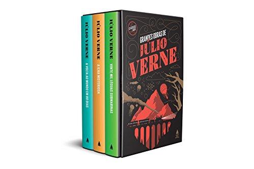 Grandes Obras de Júlio Verne - Caixa