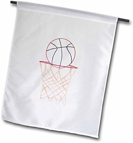 wenyige8216 Red de baloncesto para dibujo, 30,5 x 45,7 cm, diseño ...