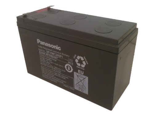 (Panasonic UP-VW1245P1 Black Large Lead_Acid_Battery)