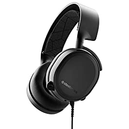 SteelSeries Arctis 3 Console – Stereo Wired Gaming Headset – for PlayStation 4, Xbox One, Nintendo Switch, VR, Android and iOS – Black [2019 Edition]