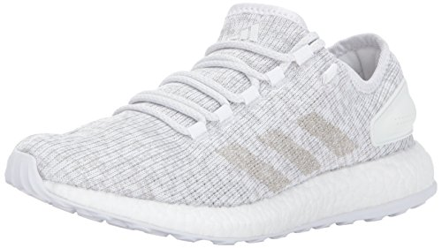 adidas Men's Pureboost, Grey ONE/White, 10.5 Medium US