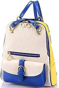 حقيبة ظهر يومية مصنوع من مواد اصطناعية متعدد الالوان