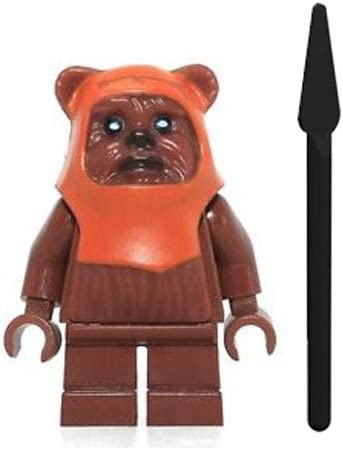 LEGO Minifigure - Star Wars - WICKET with Spear