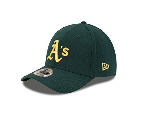 - New Era MLB Oakland Athletics Road Team Classic 39Thirty Stretch Fit Cap, Large/X-Large, Green