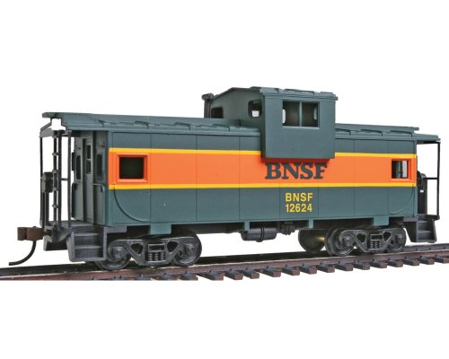 Caboose Burlington Northern - Walthers Trainline HO Scale Wide Vision Caboose Burlington Northern Santa Fe
