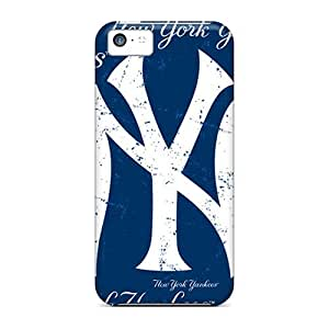 Brand New 5c Defender Case For Iphone (new York Yankees)