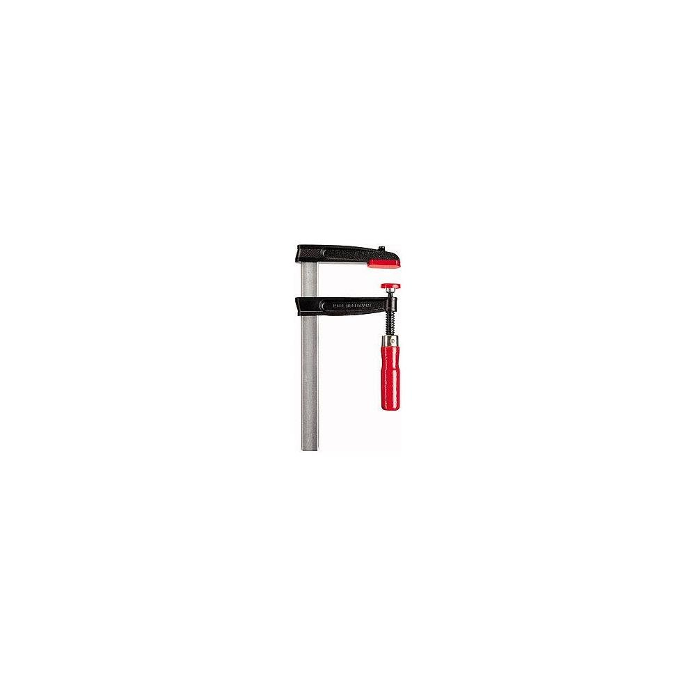 Bessey TGRC30B8 Screw Clamp Tgrc 11.81In/3.15In of Cast-IRON,, Black/Red/Silver