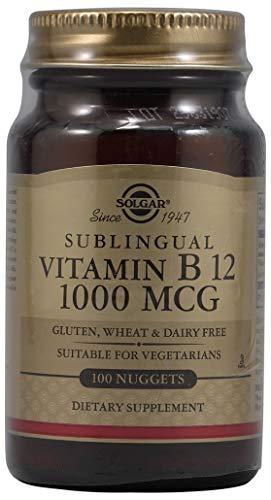 Solgar, Vitamin B12 1000 Mcg Nuggets, 100 Count