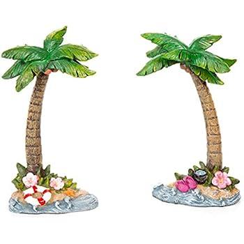 Amazon.com: Darice 30005335 Beach Fairy Garden Supplies-Palm Trees ...