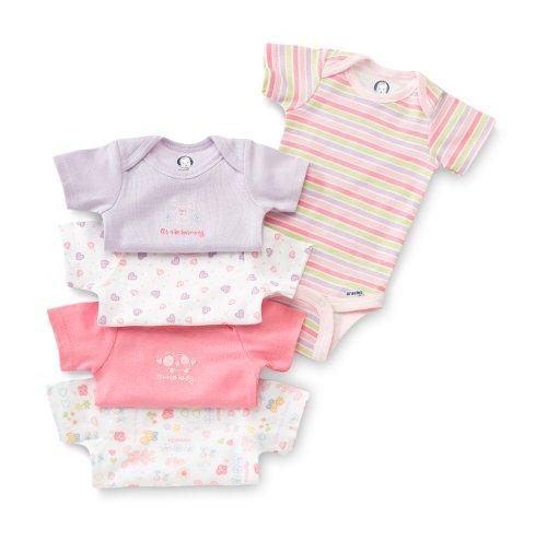 Gerber 5 Pack Variety Bodysuits Underwear