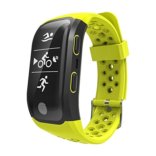 S9 Kids Fitness Tracker Watch for Girls,Fitness Tracker with Blood Pressure Monitor,for Bluetooth Andriod and iOS - Yellow by Sammid