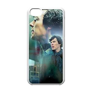 QSWHXN Sherlock Phone Case For Iphone 5C [Pattern-6]
