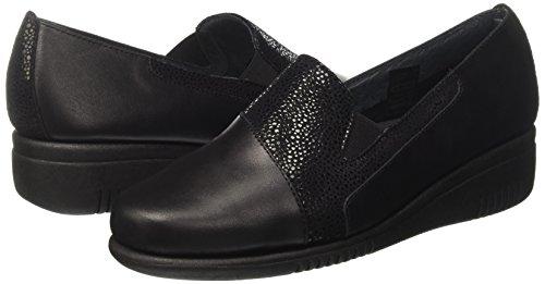 Basso Nero Sc3604 A Sneaker Donna Grünland Collo ZA7qROnAvx