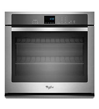 """Whirlpool WOS51EC0AS 30"""" Stainless Steel Electric Single Wall Oven"""