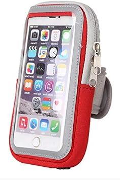 S8 S10 S9 S7 Edge avec grand compartiment pour jogging et bras Dealbude24 Brassard de sport pour Samsung Galaxy S20