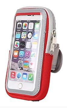 Sportarmband Handytasche passend f/ür Google Nexus 5X Handy Fitness H/ülle leicht Dealbude24 Armtasche L Schwarz Tasche mit gro/ßem Fach Jogging