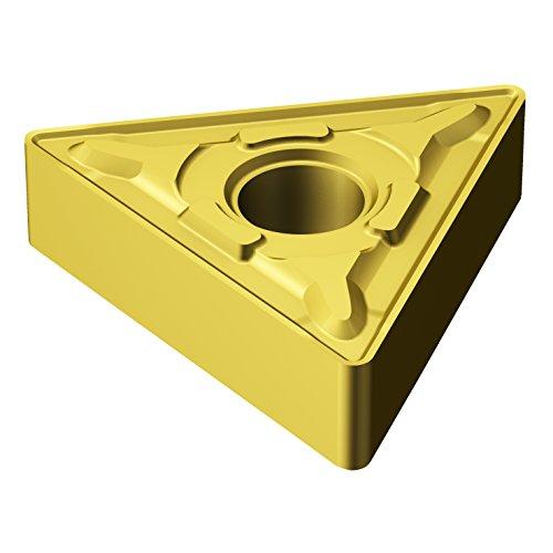 (Sandvik Coromant, TNMG 333-MRR 2015, T-Max P Insert for Turning, Carbide, Triangle, Neutral Cut, 2015 Grade, Ti(C,N)+Al2O3+TiN)