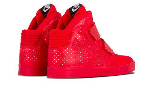Rojo 2k3 Nike Basket Red da Rojo University Uomo Prm Chrome Rosso Scarpe Flystepper zqx1A6Ow