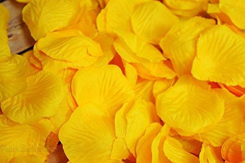 Quasimoon Yellow Confetti Weddings PaperLanternStore