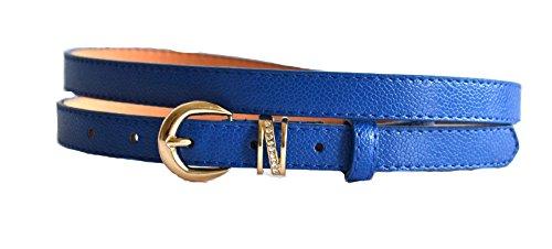 Royal Blue Leather Pants - 9