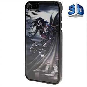 3D Effects Style Batgirl Pattern Plastic Case for iPhone 5