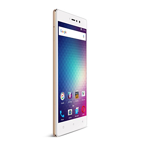 "BLU VIVO 5R (32GB) 5.5"" Full HD, Dual SIM 4G LTE GSM Factory Unlocked Smartphone with Fingerprint Sensor, Gold"