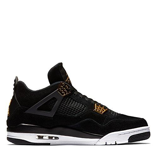 nike-jordan-mens-air-jordan-4-retro-black-metallic-gold-white-basketball-shoe-11-men-us